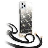 Kryt na mobil Guess 4G Gradient pro Apple iPhone 11 černý