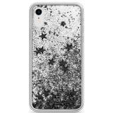 Kryt na mobil White Diamonds Sparkle pro Apple iPhone XR černý