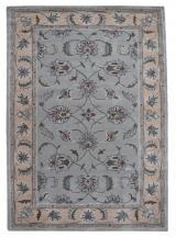 KUDOS Textiles Pvt. Ltd. Ručně všívaný vlněný koberec DO-18 - 160x230 cm Šedá