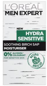 L´Oréal Paris Men Expert Hydra Sensitive pánský zklidňující a hydratační krém pro citlivou pleť 50ml,L´Oréal Paris Men Expert Hydra Sensitive pánský z