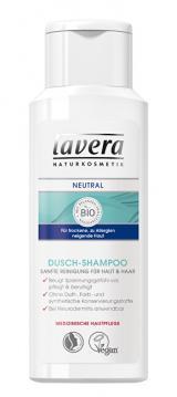 Lavera Přírodní sprchový šampon na tělo a vlasy Neutral  200 ml