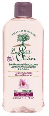 Le Petit Olivier Čisticí micelární voda Mandlový květ  400 ml