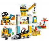 LEGO DUPLO® Town 10933 Stavba s věžovým jeřábem