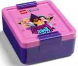 Lego Friends Girls Rock Svačinový Set Láhev A Box - Fialová