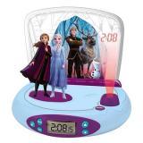 Lexibook Frozen II Hodiny s projektorem a zvuky