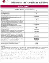 LG F4DV709H2T   10 let záruka na invertorový motor - použité