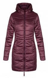 LOAP Dámský kabát Grape Wine CLW19102-K59K M
