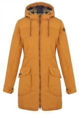 LOAP Dámský kabát Nakia Inca Gold/Blue CLW1999-R87L XL