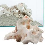 Lochgestein - děrovaný kámen do akvária - 7 kamenů: 10 - 18 cm, cca. 8 kg
