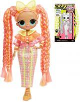 L.O.L. Surprise velká ségra Dazzle set panenka neonová   15 překvapení