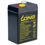 Long 6V 4.5Ah olověný akumulátor F1