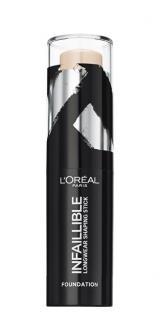 Loreal Paris Tuhý make-up v tyčince Infaillible Shaping Stick 9 g 120 Vanilla Rose