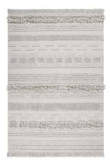 Lorena Canals koberce Ručně tkaný kusový koberec Air Natural - 140x200 cm Šedá