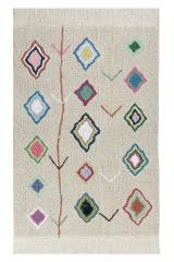 Lorena Canals koberce Ručně tkaný kusový koberec Kaarol - 140x200 cm Bílá