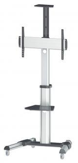 Manhattan Mobilní stojan na TV LCD/LED/PDP 37'-70' 50kg VESA PIVOT naklápěcí,