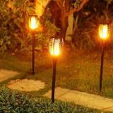 Marex Trade Zahradní solární lampa s čidlem 36 LED, 58 cm