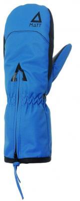 Matt chlapecké rukavice DOO ZIPPER 116/122 modrá
