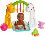 Mattel Barbie Herní set Miminko s hrazdičkou