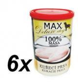 MAX Deluxe Kuřecí Prsa Bez Kosti 6X400G