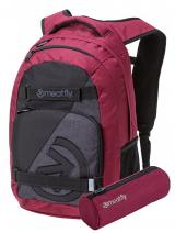 Meatfly Batoh Exile 4 B-Ht. Burgundy, Black, Ht. Charcoal