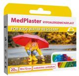 MedPlaster Náplast KIDS water resistant 19x72mm 20ks,MedPlaster Náplast KIDS water resistant 19x72mm 20ks
