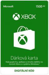 Microsoft Xbox - Dárková karta 1500 Kč  - elektronicky