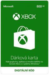 Microsoft Xbox - Dárková karta 800 Kč  - elektronicky