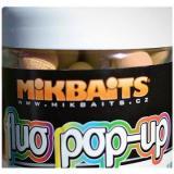 Mikbaits - Plovoucí fluo Pop-Up Broskev Black pepper 18mm 250ml