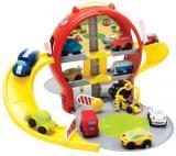 Mikro Hračky Parkovací Garáž Patrová   Auto