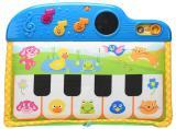 Mikro hračky Pianko dětské 41 cm 5 kláves na baterie se světlem a zvukem
