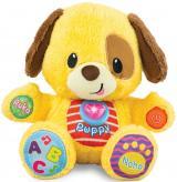 Mikro hračky Puppy naučný pejsek 33 cm česky mluvící na baterie se světlem a zvukem