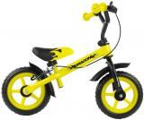 Milly Mally Dětské odrážedlo kolo Dragon s brzdou yellow