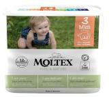 MOLTEX Plenky Pure & Nature Midi 4-9 kg