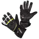 Moto rukavice W-TEC Evolation černo-bílo-fluo - 4XL