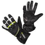 Moto rukavice W-TEC Evolation černo-bílo-fluo - M