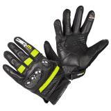 Moto rukavice W-TEC Rushin Black-Fluo Yellow - 3XL