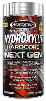 MuscleTech Hydroxycut Next Gen unflavored 100 kapslí,MuscleTech Hydroxycut Next Gen unflavored 100 kapslí