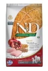 N&D LG DOG Light M/L Chicken&Pomegranate 2,5 kg