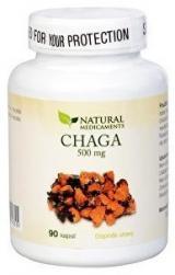 Natural Medicaments Chaga 500mg cps.90