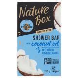 Nature Box Tuhé sprchové mýdlo Coconut Oil  150 g