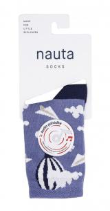 nauta socks dětské ponožky Balón s audio pohádkou 35 - 38 fialová