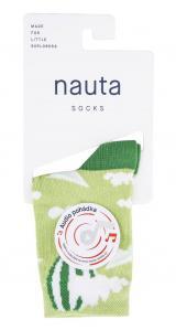 nauta socks dětské ponožky Balón s audio pohádkou 35 - 38 zelená
