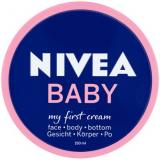 Nivea Baby Krém obličej-tělo-zadeček 150ml,Nivea Baby Krém obličej-tělo-zadeček 150ml