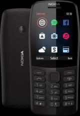 Nokia 210 Dual Sim, Černá