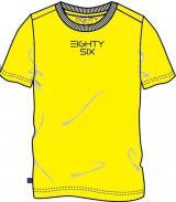 North Pole chlapecké tričko 116 žlutá