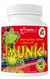 Nutricius Imuníci Hlíva ústřičná s vitamínem D pro děti 90 tablet,Nutricius Imuníci Hlíva ústřičná s vitamínem D pro děti 90 tablet