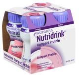 Nutridrink Compact Jahoda perorální roztok 4x125ml,Nutridrink Compact Jahoda perorální roztok 4x125ml