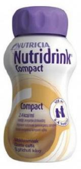 Nutridrink Compact perorální roztok 4x125ml S příchutí kávy,Nutridrink Compact perorální roztok 4x125ml S příchutí kávy