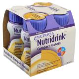 NUTRIDRINK Compact Protein s příchutí Banánovou roztok  4x125 ml