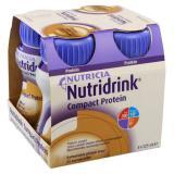 NUTRIDRINK Compact Protein s příchutí Kávy roztok  4x125 ml
